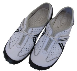 Privo White with gray and black trim Athletic