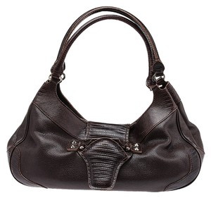 Tod's Shoulder Lizard Hobo Bag