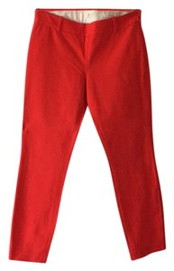 J.Crew Skinny Pants Red/orange