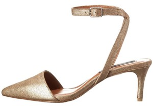Steven by Steve Madden Gold Pumps