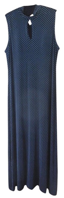 Preload https://img-static.tradesy.com/item/17963221/coldwater-creek-black-with-white-dots-traveler-knit-sleeveless-maxi-long-night-out-dress-size-16-xl-0-1-650-650.jpg