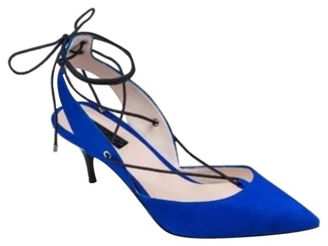 Item - Blue Pumps Size US 6.5 Regular (M, B)