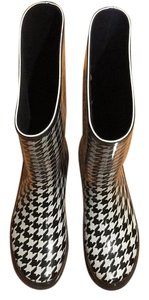 Target Black and White Boots