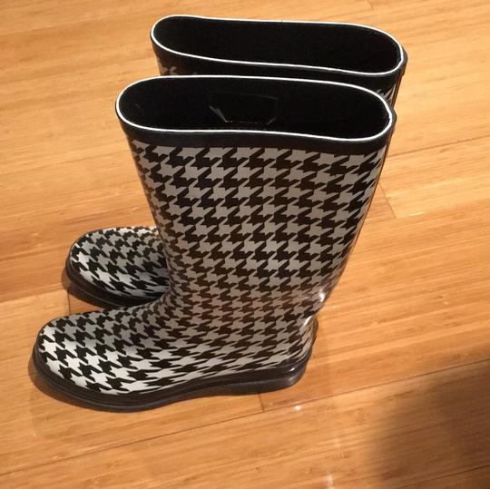 Target Black and White Boots Image 1