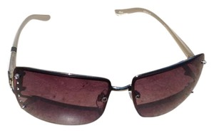 Bella Vita Rimless Square with Lens Stones & Vented Hinge