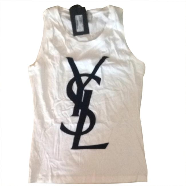 Item - Black and White Logo Tank Top/Cami Size 4 (S)
