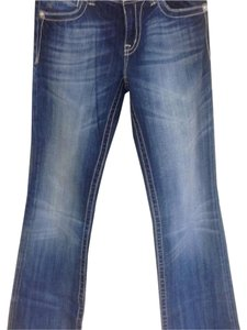 Miss Me Boot Cut Pants Blue