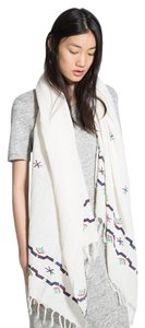 Mango Embroidered cotton scarf REF. 43015656