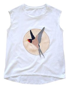 Other Bird Stella Mccartney Embroidered Embellished Top white