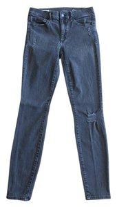 Gap Stretch Distressed Jeggings Skinny Jeans-Distressed
