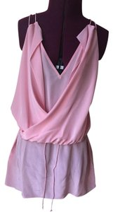 3.1 Phillip Lim Sleeveless Wrap Top Pink