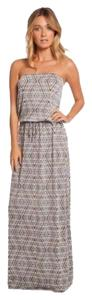 Gray Maxi Dress by Elan
