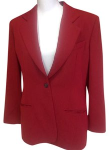 Burberry Red Blazer