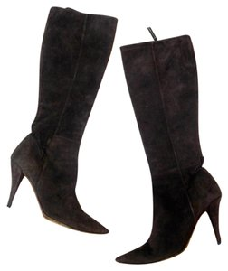Moschino Cheap n Chic Size 7 Suede brown Boots