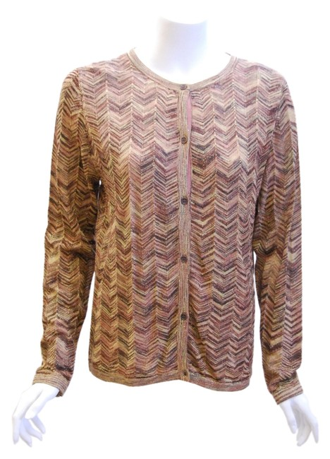 Preload https://img-static.tradesy.com/item/1796639/missoni-for-target-brown-cardigan-stripe-clothing-sweaterpullover-size-14-l-0-0-650-650.jpg