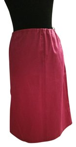 Armani Jeans Made In Italy Skirt Fucsia