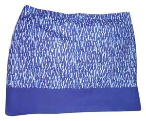 Michael Kors Skirt Electric Blue/Purple, White, Turquoise