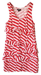 Camilla and Marc short dress Red and White on Tradesy