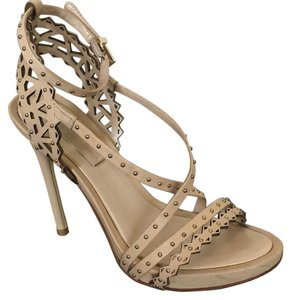 BCBGMAXAZRIA powder vachetta / tan Sandals