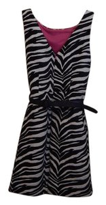 Eliza J short dress Animal Print on Tradesy