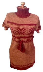Grande Pom Pom Dress Tunic Sweater