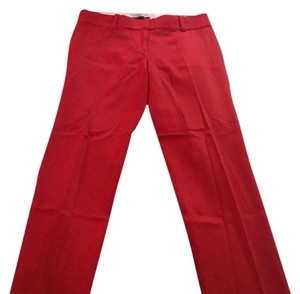 Ann Taylor NWT red cropped pant