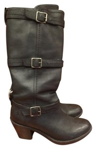 Frye Harness Boot Motorcycle Black Boots