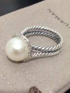 David Yurman Cable Pearl Ring
