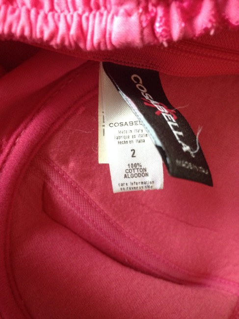 Cosabella Bustier Camisole Nwot Lace Trim Hot Pink Halter Top