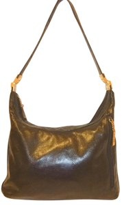 Perlina Refurbished Leather Lined Shoulder Bag