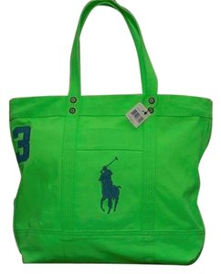 Polo Ralph Lauren Pony Tote in Green