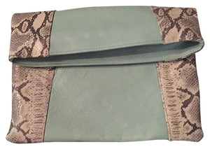 JJ Winters Mint Snake Clutch