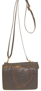 Brighton Refurbished Leather Lined Cross Body Bag