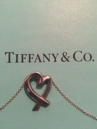Tiffany & Co. Tiffany & Co Silver Loving Heart Necklace