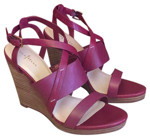 Cole Haan Cranberry Wedges