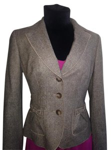Ann Taylor brown and beige Blazer