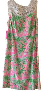Lilly Pulitzer short dress Nibbles print-multi colored on Tradesy