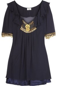 Temperley London Top Navy/Blue