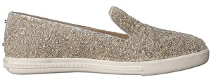 Alice + Olivia Slip-on Sneaker Glass-beaded Silver Flats