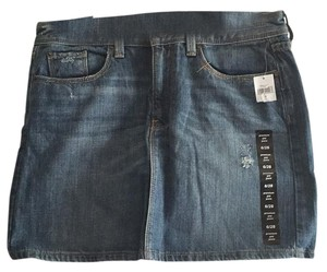 Gap Mini Skirt Denim