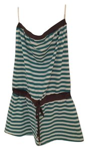 Juicy Couture Striped Strapless Dress