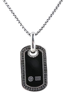 David Yurman David Yurman Dog Tag Pendant