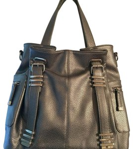 Charming Charlie Tote in Silver Gray