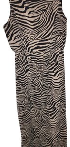 Black and tan Maxi Dress by Forever 21