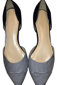 Tommy Hilfiger Navy and white Flats