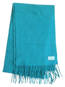 Coach Cashmere & Wool Scarf with Fringe