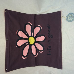 Life is Good Life is Good Canvas Wall Flag