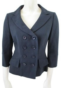 Ann Taylor Wool Fully Lined Career Black Blazer