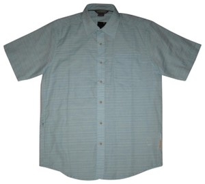 ExOfficio Button Down Shirt Light Blue