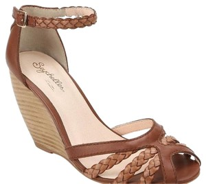 Seychelles Brown and tan Wedges